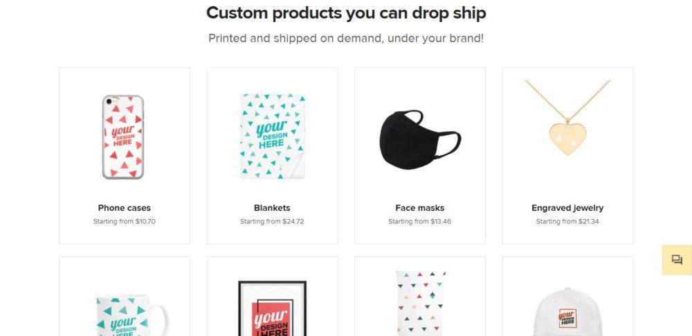 Printify vs Printful Printful Products