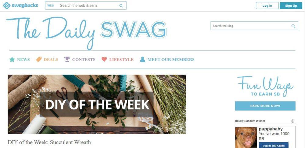 Swagbucks Blog