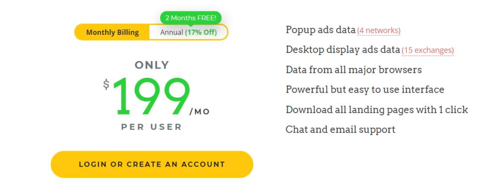 adplexity desktop pricing