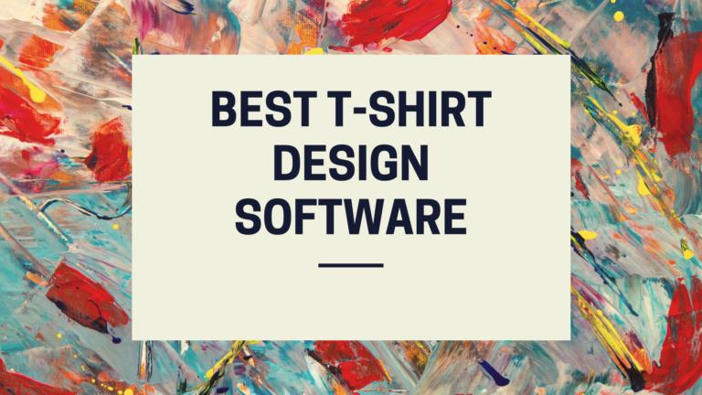 Best T-shirt design Software