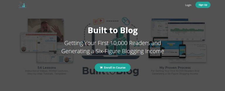 Blogging Courses Built To Blog