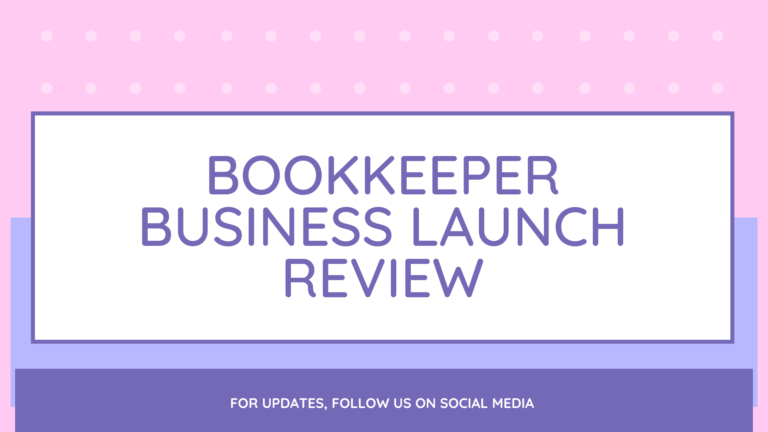 Bookkeeper Business Launch Review
