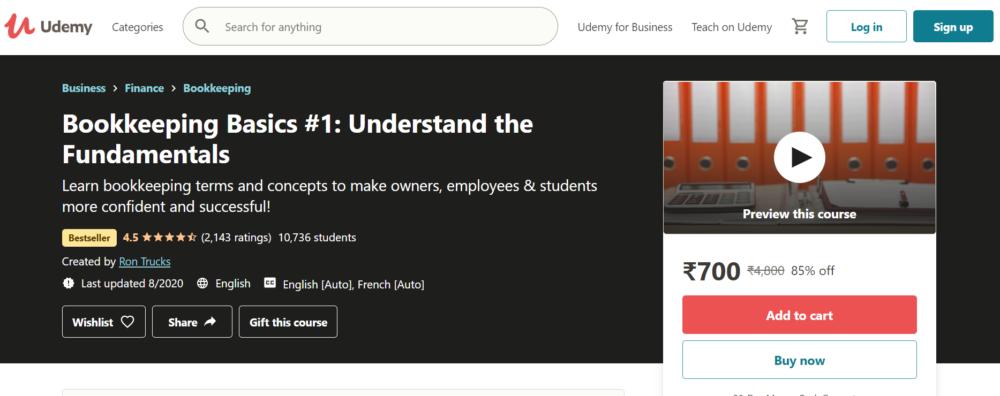 Understand the Fundamentals by Udemy