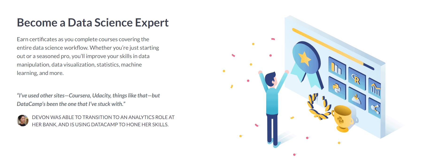 DataCamp Review- Data Science Expert