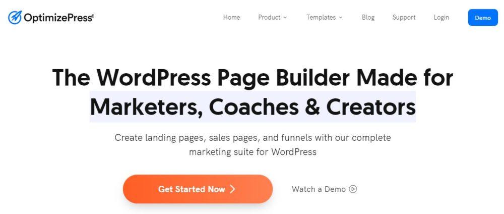 OptimizePress builder- Best Scarcity website builder tool