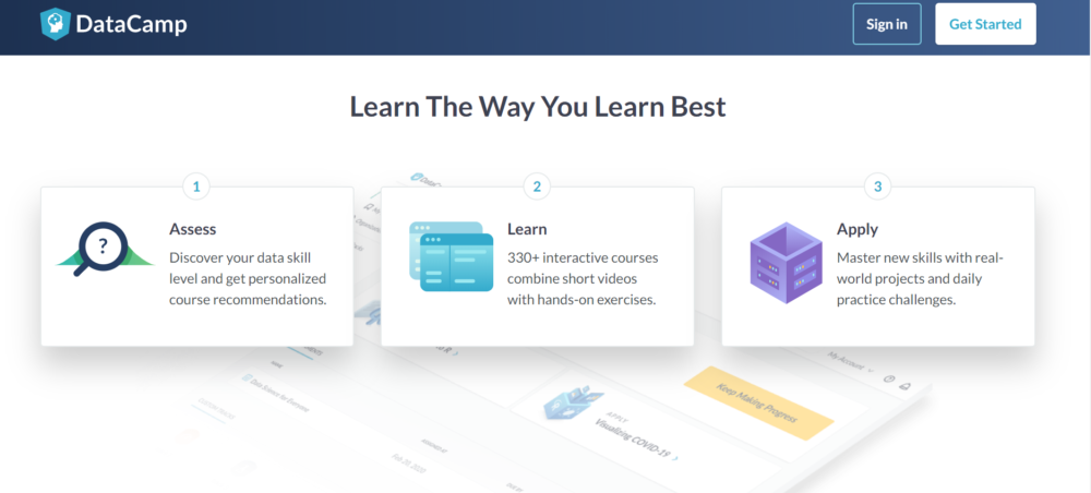 DataCamp Review- Learn The Way You Learn Best