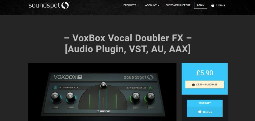 Vox Box Autotune Software