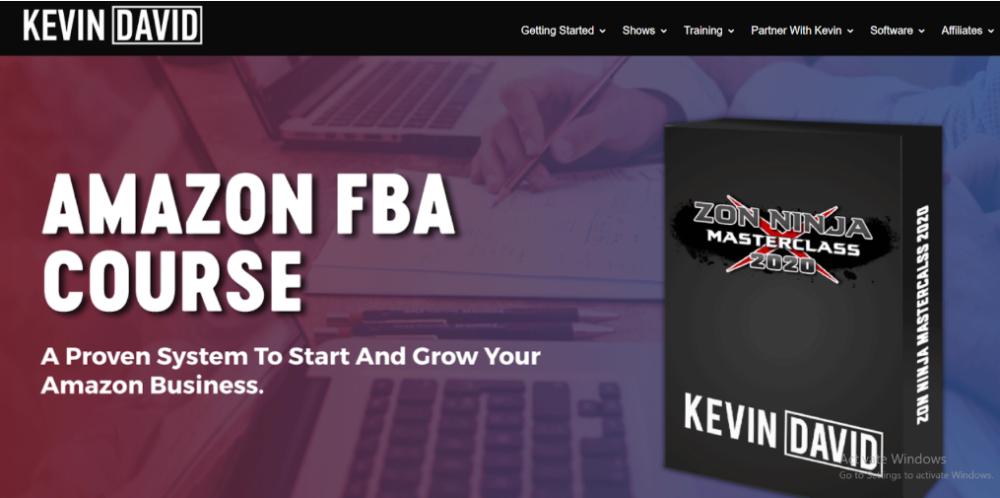 Kevin David Courses- Amazon FBA Course