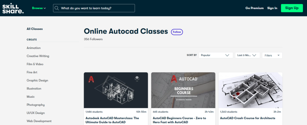AutoCAD: The Full Complete Guide you need by SkillShare