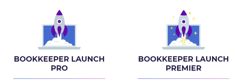 Bookkeeper Business Launch Pro and Premier