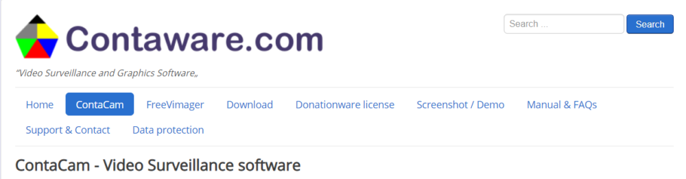 ContaCam Software- Contaware.com