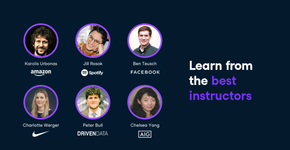 datacamp - instructors