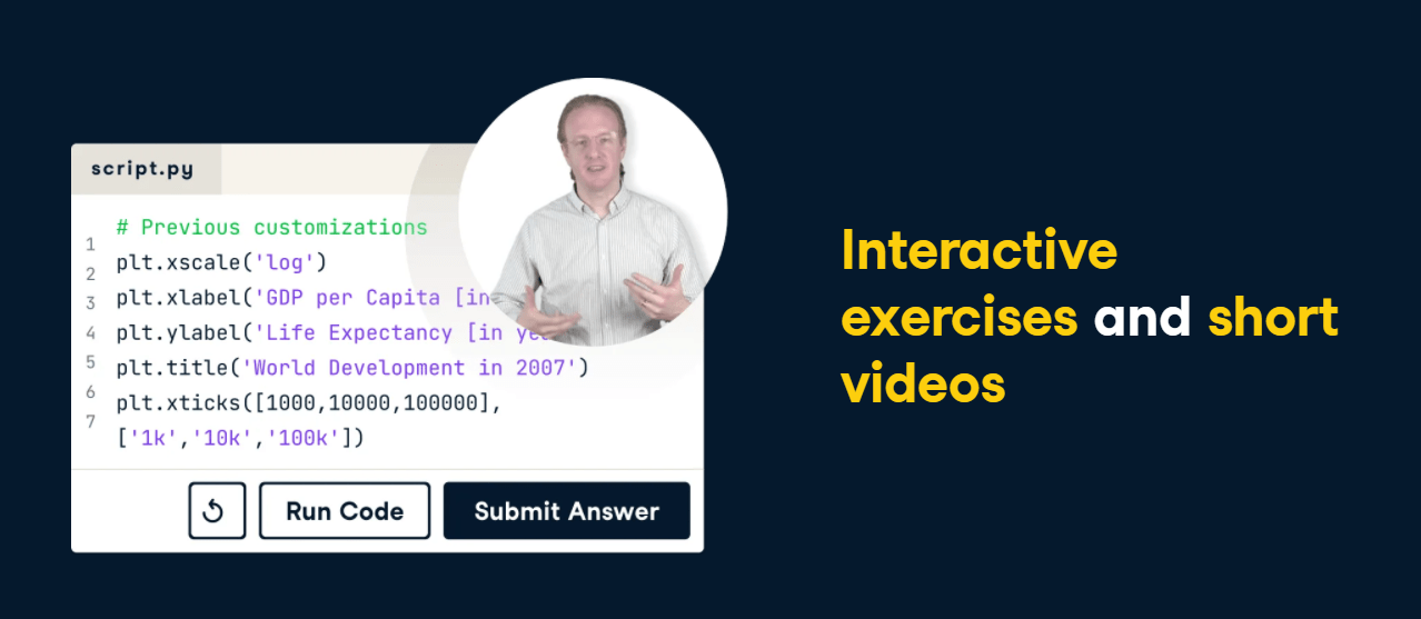 datacamp - videos