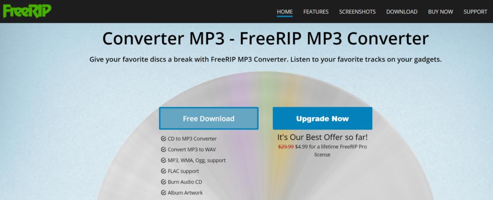 Converter MP3- FreeRIP MP3 Converter