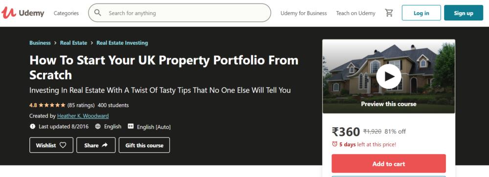 Property Portfolio from Scratch