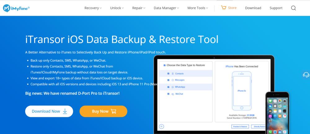iOS Data Backup