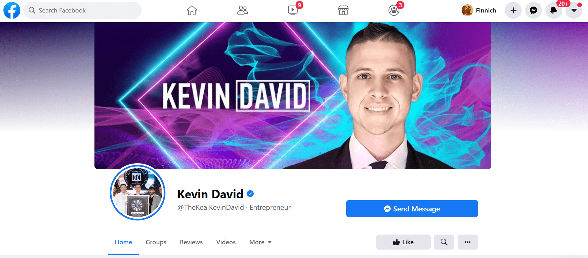 kevin david facebook