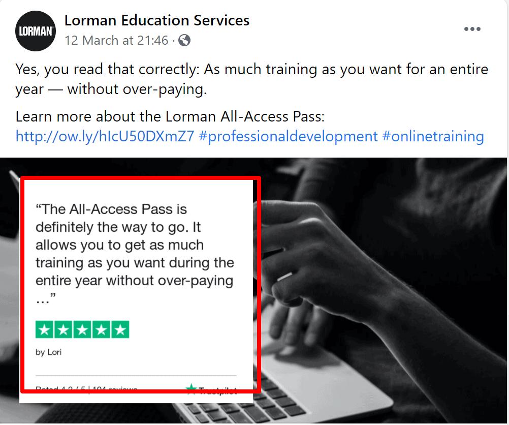 lorman reviews