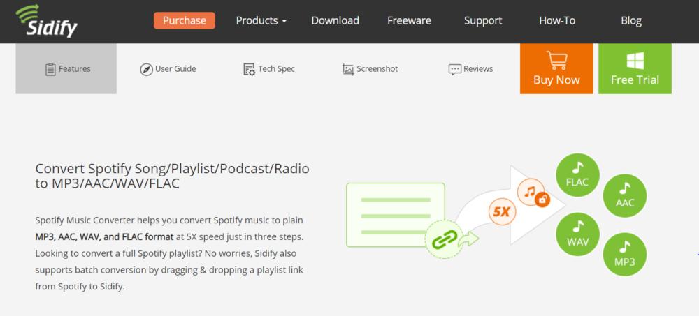Sidify Review- convert spotify to mp3