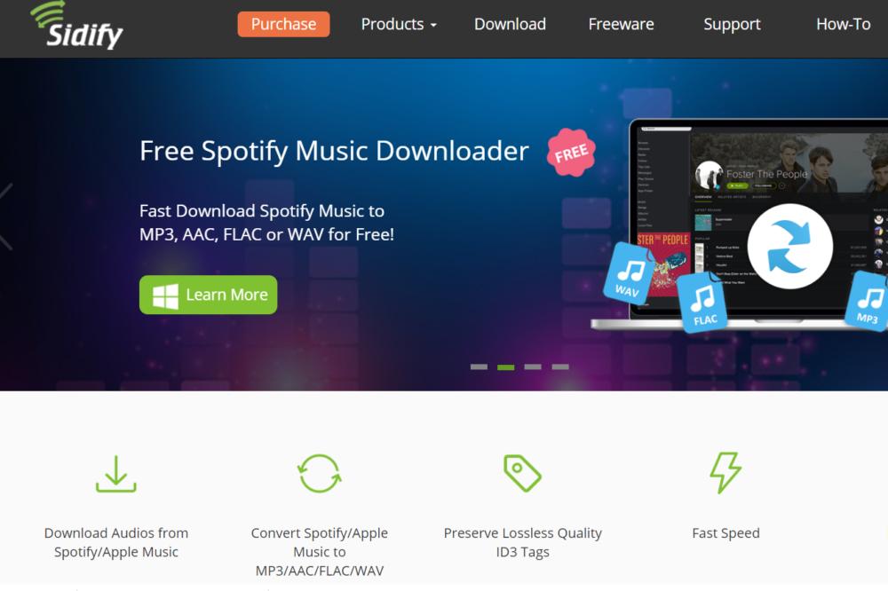 sidify for spotify music converter