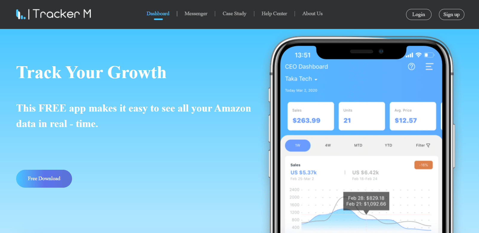 Track your Growth