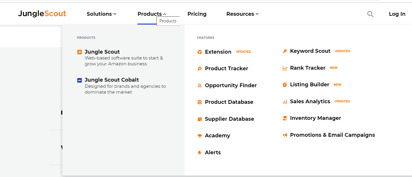 AMZ Tracker vs Jungle Scout: Product research