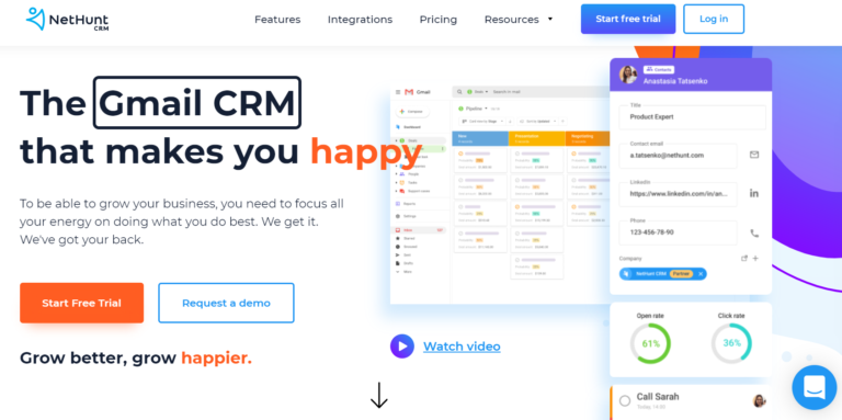 nethunt crm review