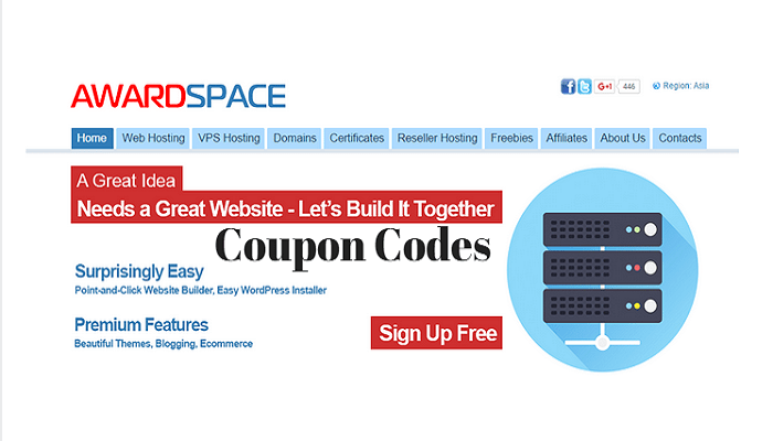 AwardSpace Coupon