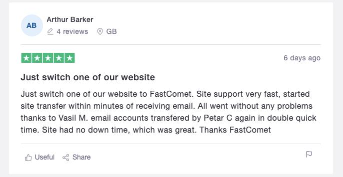FastComet Review