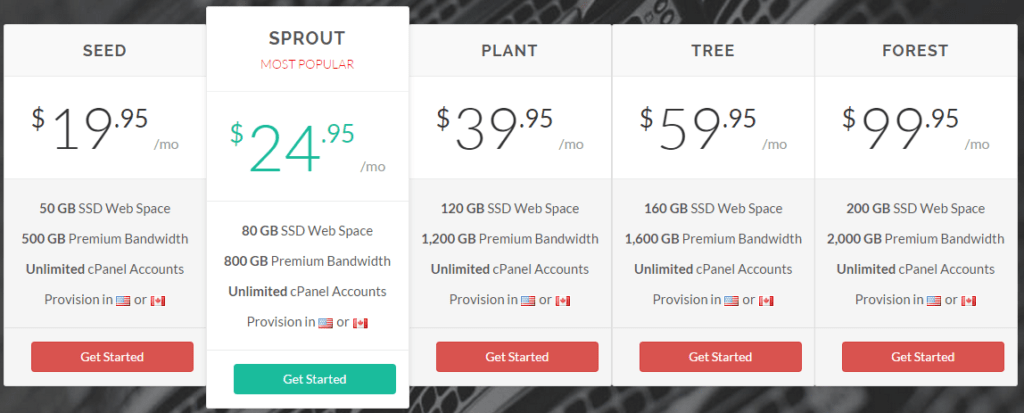 Plan-for-GreenGeeks-web-hosting-with-Discount-Coupon-Promo-Code