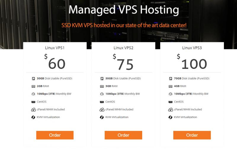 managed vps hosting plan