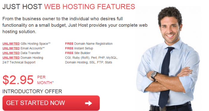 Justhost Coupon-Web Hosting