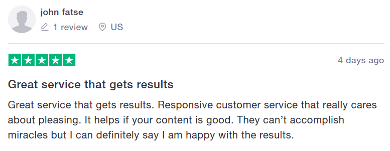 Kicksta Customer Reviews On Truspilot