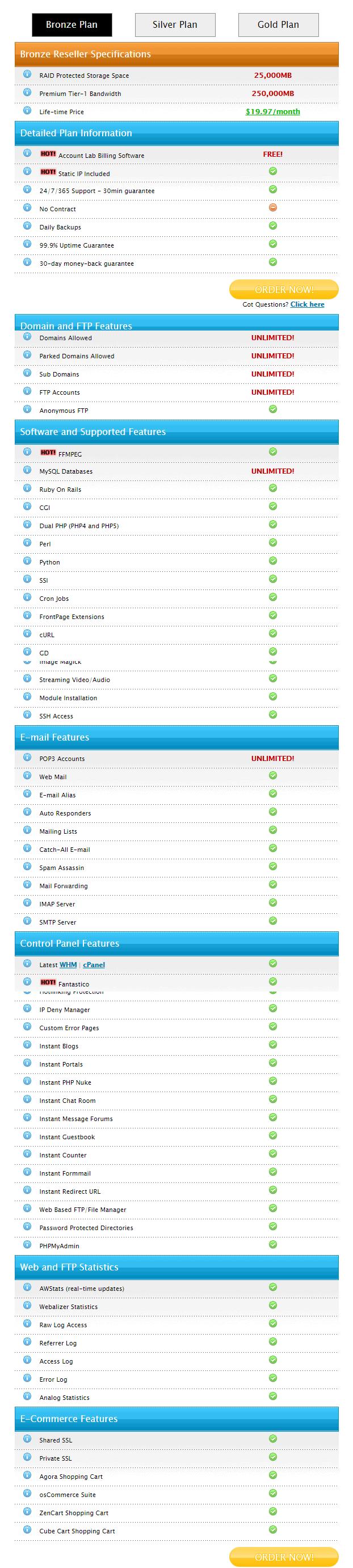 BounceWeb - Resller Hosting