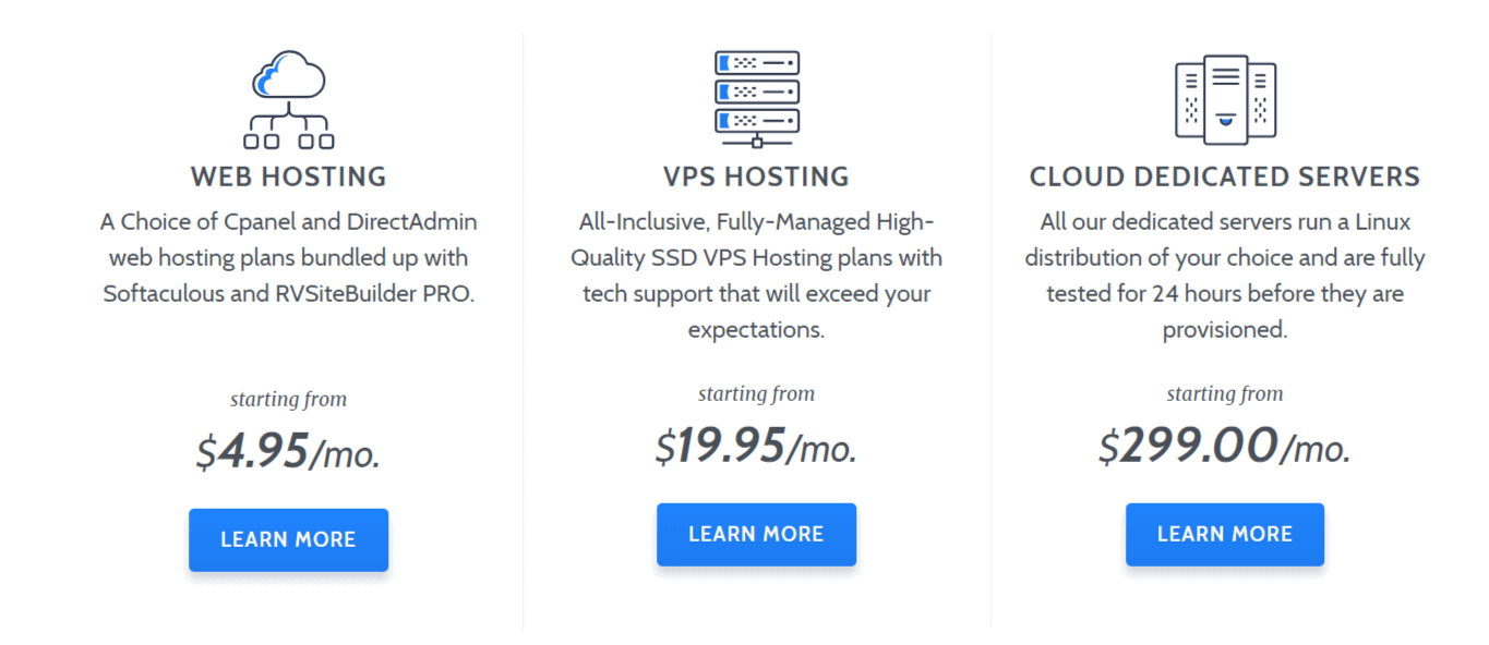 RoseHosting-pricing-plans-with-RoseHosting-Coupon-Codes
