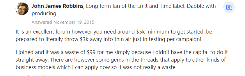 STM Forum USer Review