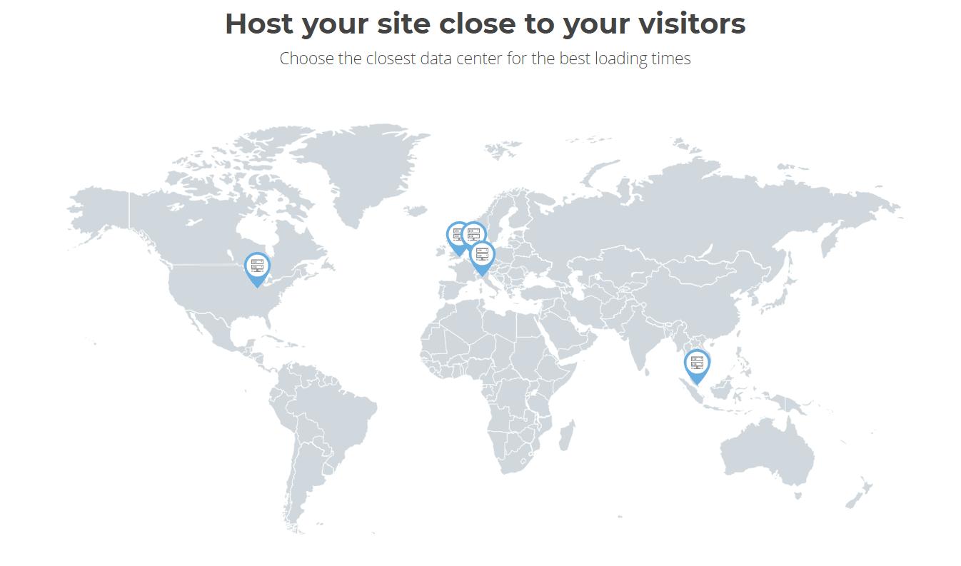 SiteGround Hosting- data centres