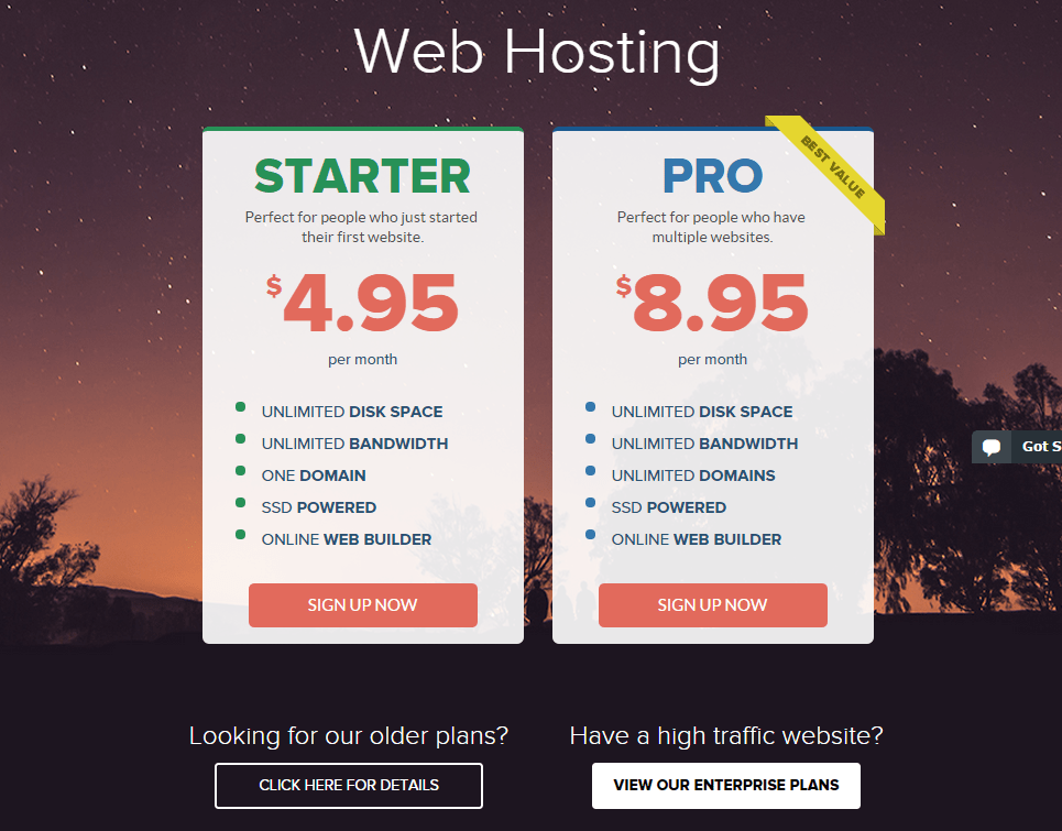 StableHost Coupon-pricing