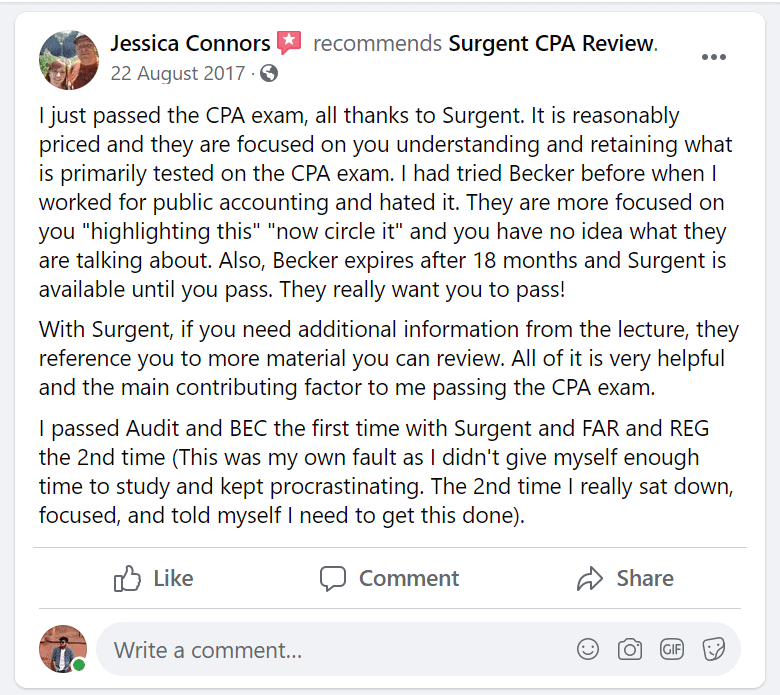 Surgent-CPA-Review-Facebook