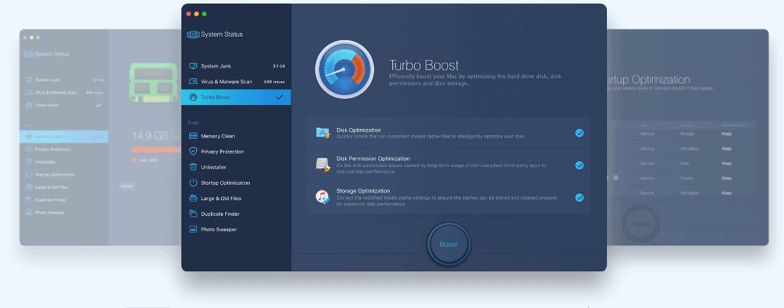 iObit's MacBooster- Turbo Booster
