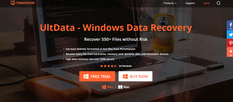 UltData- Windows Data Recovery