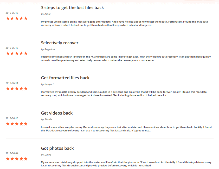 UltData Customer Review