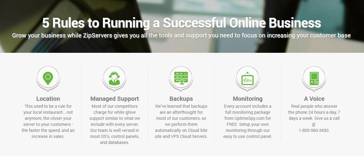 run online business