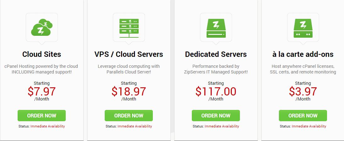 Zip Servers Coupon- Cloud Storage