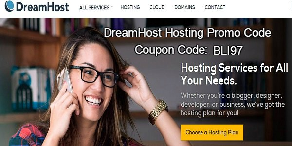 DreamHost Hosting-Coupon