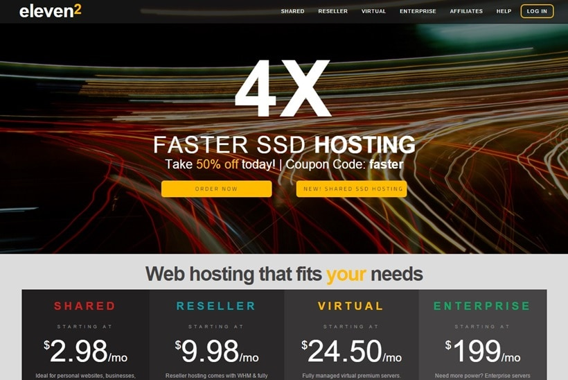 Web Hosting Service Providers In Singapore- eleven2
