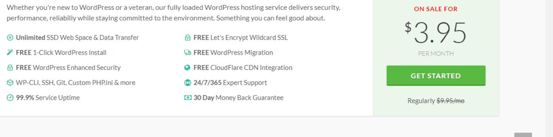 Wordpress-hosting-with-greengeeks-pricing