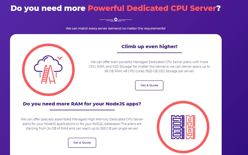 powerful dedicated cpu server