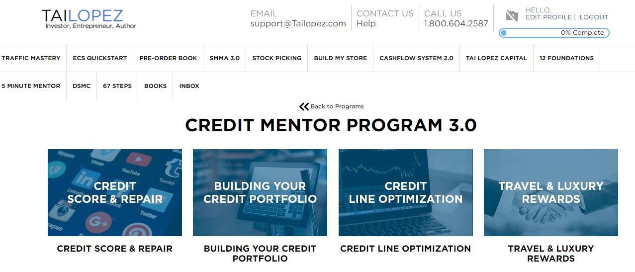 credit mentor program 3.0