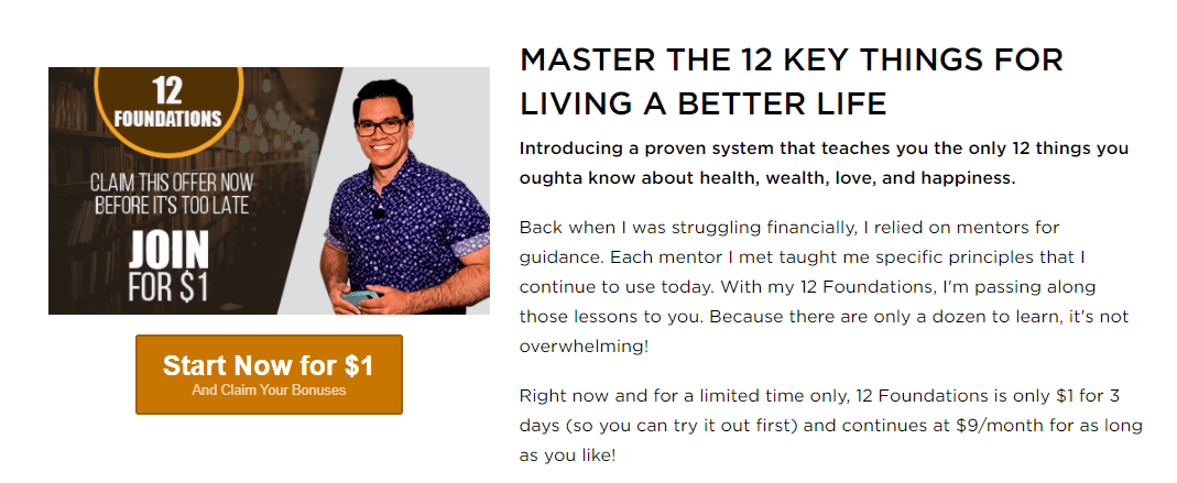 master the 12 key things for living a better life